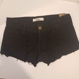 NWT Hollister Shorts Black
